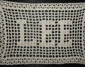 Personalized Name Doilies