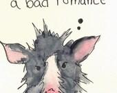 Pop Singing Pig Valentine