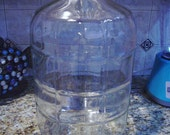 Vintage Water Cooler Bottle