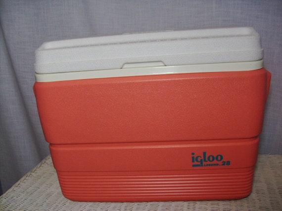 Vintage igloo legend 28 cooler pink - Igloo vintage ...