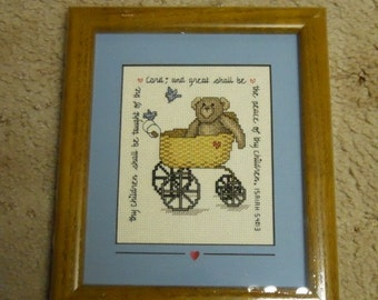 Bear in Buggy Picture
