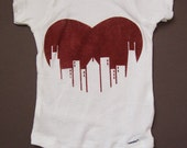 Chicago Love Baby Onesie