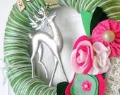 Noel Yarn Wreath