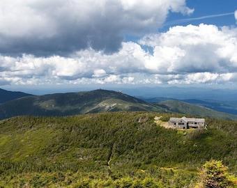 White Mountains, New Hampshire Hiking Adventure - 8x10 Color Nature Landscape Photo Print - Cottage Cabin Decor -Appalachian Trail