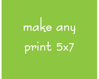 Make Any Print 5x7