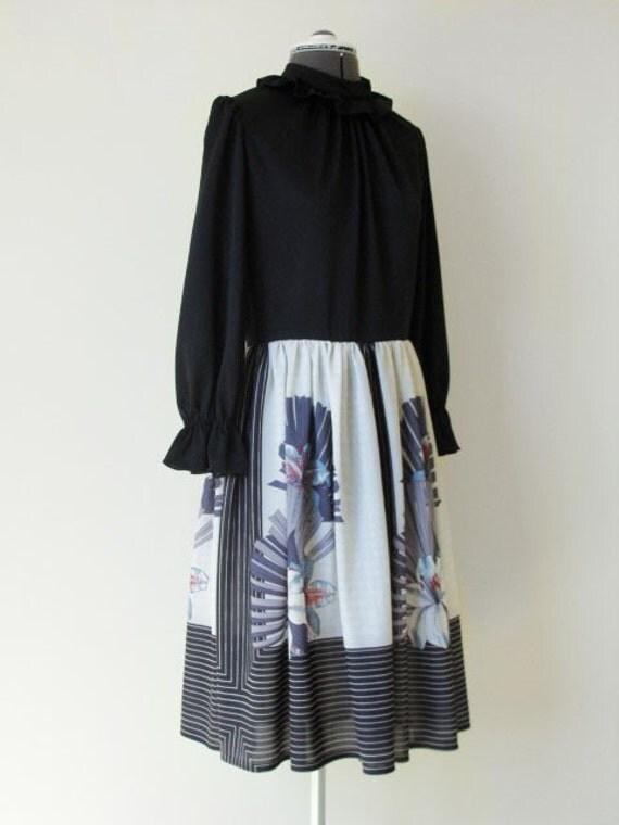 Vintage 70s Dress by Herman Marcus.
