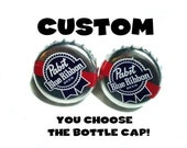 CUSTOM Bottle Cap Cuff Links