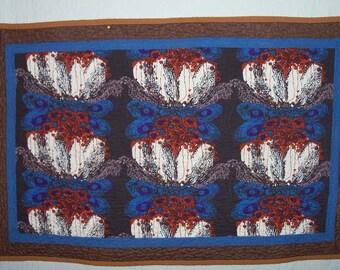 Quilt Eames Sun Worshipper Textile Wall Art
