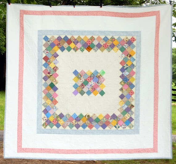 Quilt New Boston Commons Queen/King Traditional Lovely Textile