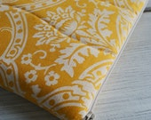 Special order/ Laptop Sleeve Case Cover  for 13.8 inch macbook/ linen/ zipper