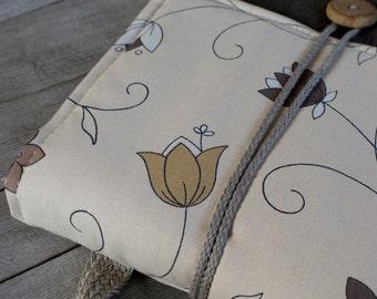 Laptop sleeve case cover  for 13 inch Macbook/ waterproof linen/ cotton