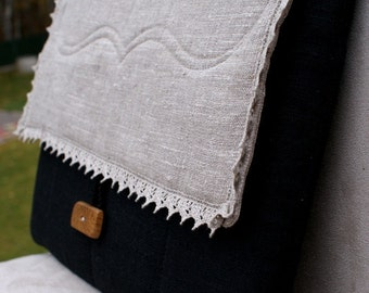 Laptop sleeve case for 15 inch Macbook/ linen/