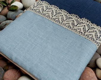 Apple iPad Sleeve Case cover/padded/ linen