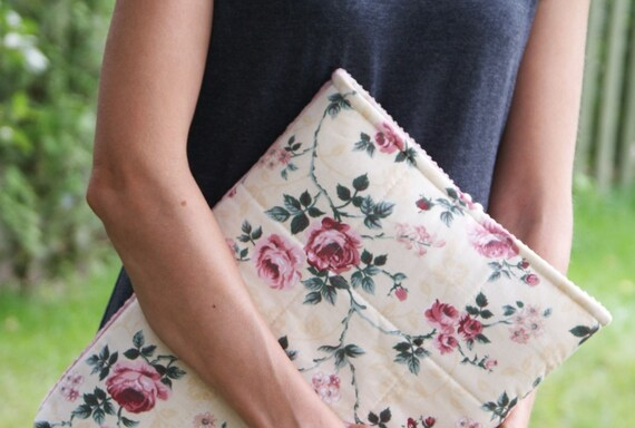 Laptop sleeve case cover for 13 inch Macbook / cotton
