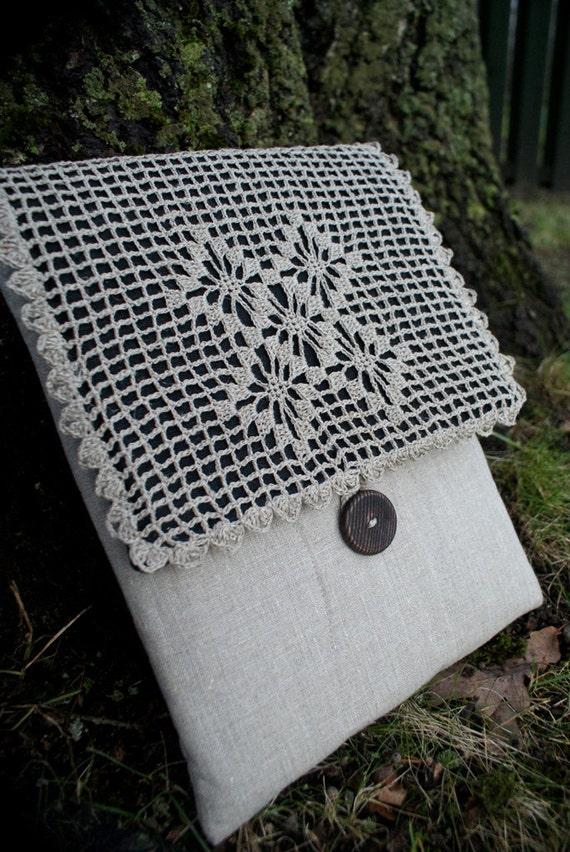 Laptop Sleeve Case for Macbook 13 inch / linen