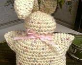 Bunny, Crocheted toy