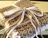 Crocheted Cloths (Powder Room, Guest bath, Kitchen) Your choice of color(s)