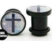 Cross in Space BMA Power Plugs SINGLE FLARE 6g (4mm)