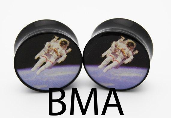 ASTRONAUT Space NASA Plugs 2g 6mm Plugs BMA