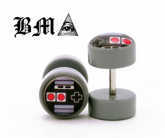 Oldskool Video Game Controller Cheater Fake Plugs BMA