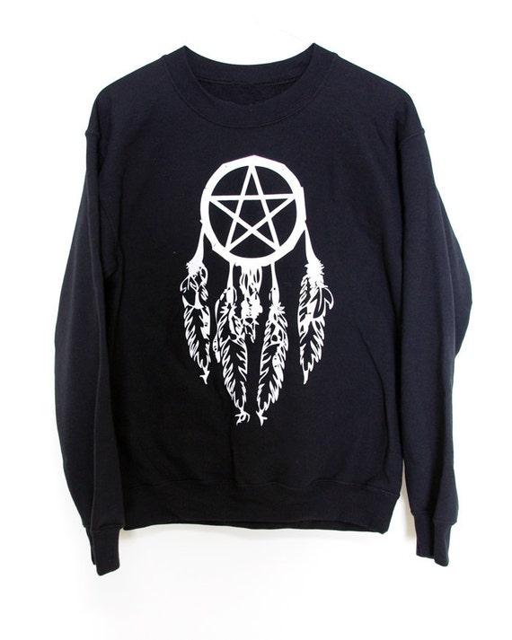 Crew Sweater // Pentagram Dreamcatcher BMA LARGE