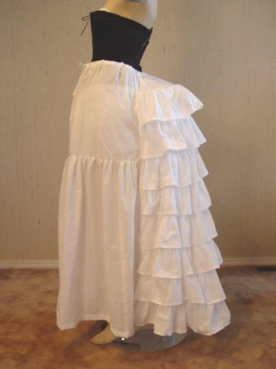 Victorian Wire Bustle Petticoat for Victorian Bustle Gowns DressesVictorian Bustle Gowns