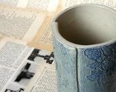 Romantic Lace Vase - Short Edition