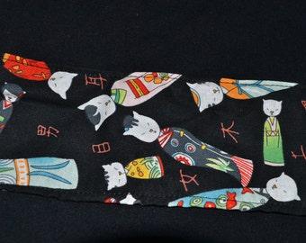 custom sphynx t shirt with kimono kitty detail