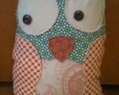 Li'l owl pillow toy