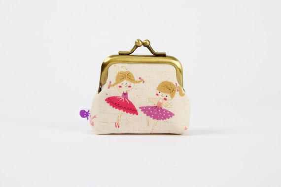 Deep baby - Let's dance - metal frame purse