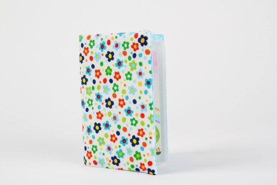 Card holder - Tiny flowers in spring