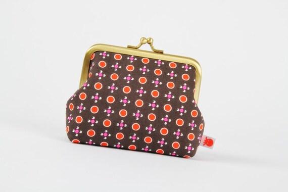 Deep dad - Petit Pan Tsukiko gris - metal frame purse