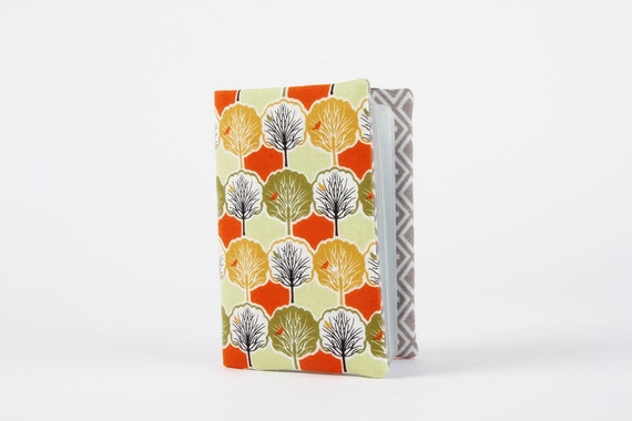 Card holder - Town and country - Trees in green