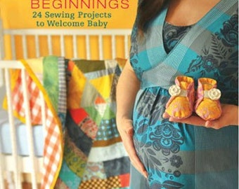 Sale AUTOGRAPHED Handmade Beginngings 24 Sewing Projects to Welcome Baby by Anna Maria Horner