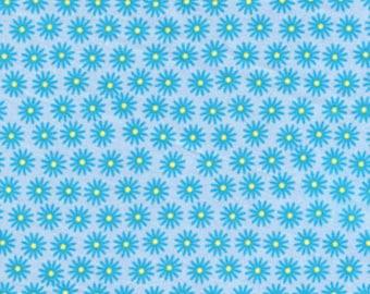 California Dreamin' Bodega Bay Blue Jenean Morrison for Free Spirit Cotton Fabric - 1 yard