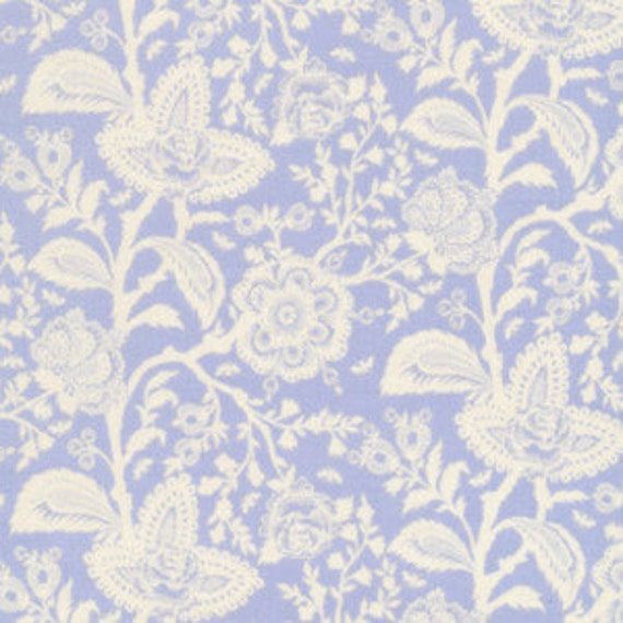 Parisville FRENCH LACE Mist Lavender Purple by Tula Pink for Free Spirit Fabrics - 4 yards