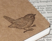 Vintage Little Bird Altered MOLESKINE Notebook/Journal