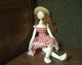 Custom Cloth Art Doll
