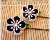 Classic Elegance Japanese Kanzashi Bobby Pins
