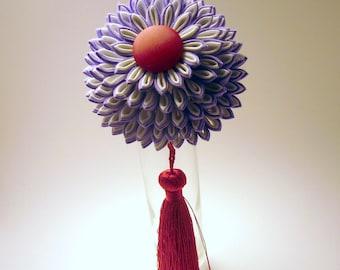 Royal Chrysanthemum Japanese Kanzashi Hair Stick