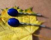 Genuine Blue Lapis Hair Jewelry