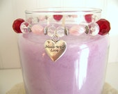 Candle Rings (Elastic Beaded) - Fire Hearts
