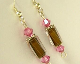 Glass Earrings - Shortcake