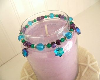 Candle Rings (Elastic Beaded) - Sparkling Star