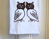 Owl kitchen towels