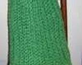 Hand Crocheted Homespun Throw : Afghan