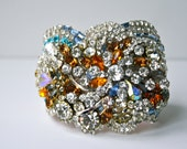 Doloris Petunia One of a Kind Custom Cuff - Short Example