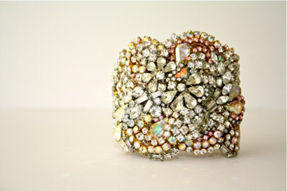 Doloris Petunia One of a Kind Custom Cuff - Made to Order Example