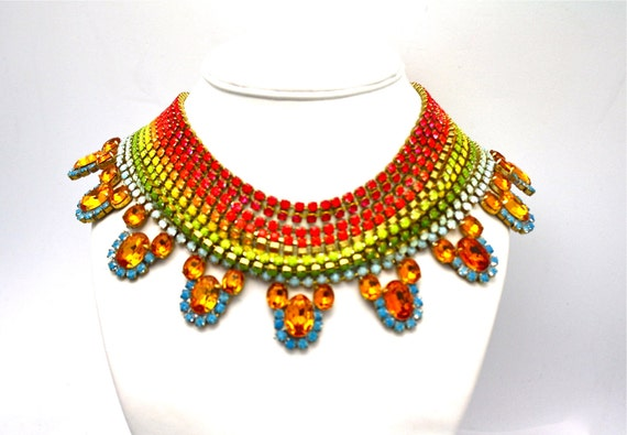 One of a Kind Statement Necklace- Adelaide