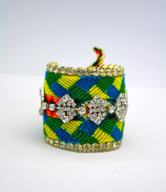 SALE- Double Row Friendship Bracelet-  Vinur